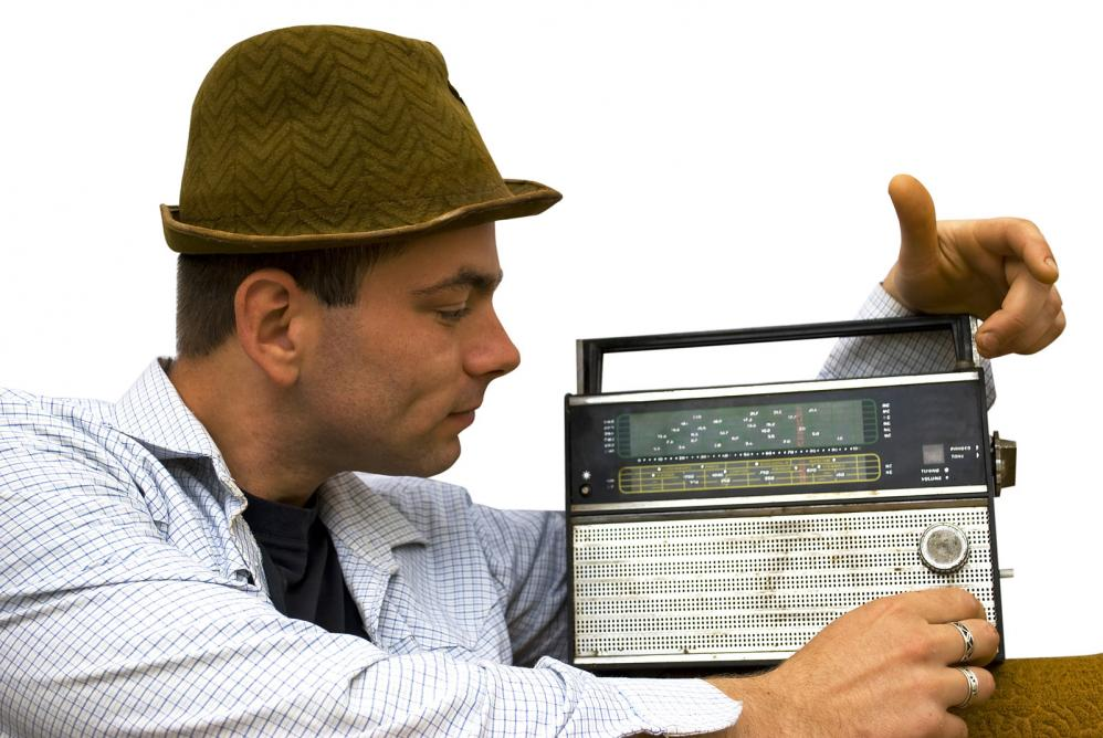 man-with-retro-radio
